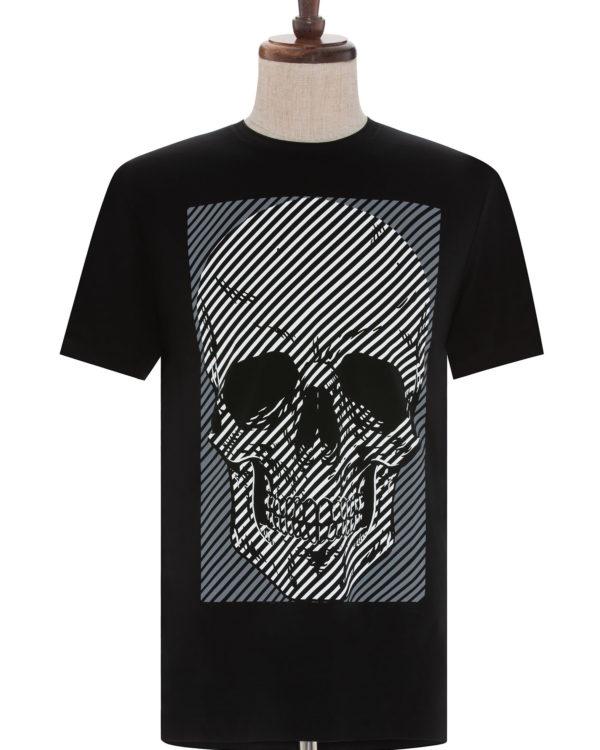 Sainte's Monster Cape men's shirt on mannequin stand