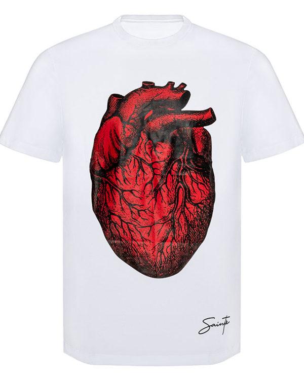 Gigantic Heart on Black T-Shirt