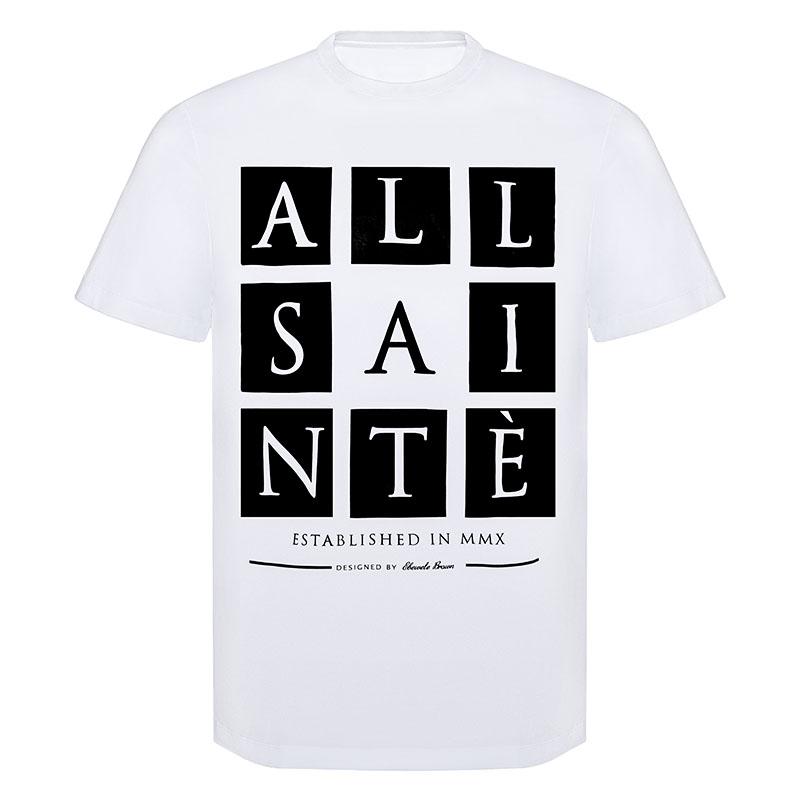 All Sainte White T-Shirt Image